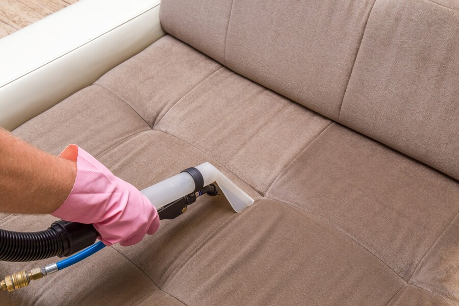 Upholstery cleaning by SunBreeze Cleaning Services LLC