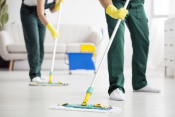 Floor Cleaning by SunBreeze Cleaning Services LLC